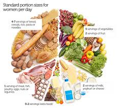 what    s the ideal portion size for women    ausmedthe above diagram uses portion sizes recommended in the the australian guide to healthy eating