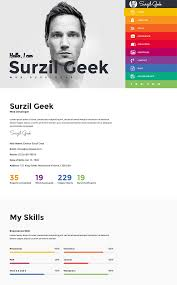 resume html template essay meaning and example 15 best html resume templates for awesome personal sites geek best html resume templates cms 28115