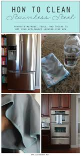 best ideas about cleaning business clean house how to clean stainless steel appliances