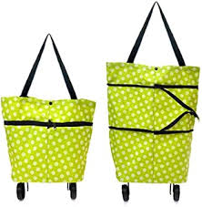 shopping trolley bag with wheels - Amazon.in