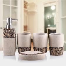bathroom soap sets