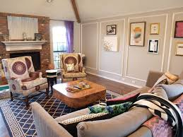 how to place area rug in living room