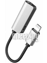 <b>Аксессуар Baseus</b> L32 <b>Lightning</b>-3.5mm / <b>Lightning</b> Female Adapter ...