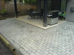 decoration pavers patio beauteous paver: easy paver design for patio porch backyard walkway with clay bricks or pavers