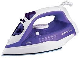 Купить <b>Утюг Polaris PIR</b> 2482AK фиолетовый/белый по низкой ...
