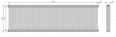 <b>Радиатор ARBONIA 3200</b>/53 №12 цвет <b>сталь</b> под лаком (TF ...