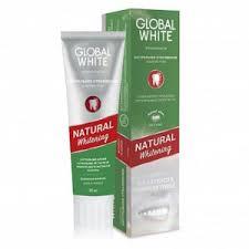 <b>Зубная паста GLOBAL WHITE</b> Натуральное отбеливание ...