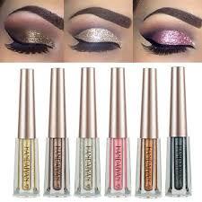 <b>12 colors</b> diamond glitter <b>liquid</b> eye shadow at Banggood