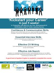 new course kickstart your career starting wed 22 kickstart your career employability 10 hr mill end 1 page0001