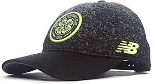 New Balance 2018-2019 <b>Celtic Elite Cap</b> (Black): Amazon.co.uk ...