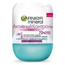 <b>Дезодорант</b>-антиперспирант <b>роликовый</b> GARNIER <b>Mineral</b> ...