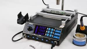 <b>YIHUA 853AAA</b> upgraded version <b>soldering station rework station</b> ...
