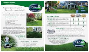 maintenance care reder landscaping servicing midland bay lawn care programs click to view flyer image