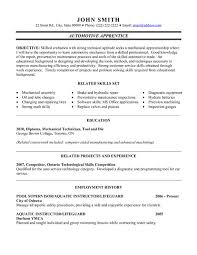automotive engineer cover letter   maintenance technician cover    automotive mechanic apprentice resume