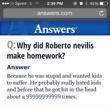 Chelsea Grimm on Twitter   quot Why was homework invented        makessense http   t co A iXrOFgbK quot  Twitter