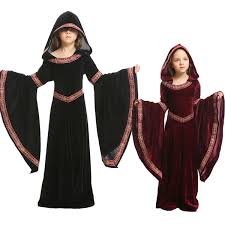 <b>Umorden Kids Child</b> Teen Girls <b>Medieval</b> Sorceress Pagan Witch ...
