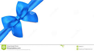 gift voucher gift certificate blue bow ribbons stock image gift voucher gift certificate blue bow ribbons