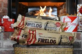 Look: Fire log designed to smell like KFC chicken - UPI.com