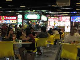 the surreal world of jakarta malls a photo essay jonathan stray plaza semanggi food court