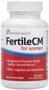 Fairhaven Health <b>FertileCM For Women</b>, Cervical Mucus Supplement