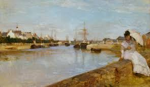 berthe morisot and impressionism eric edwards collected works berthe morisot the harbor at lorient