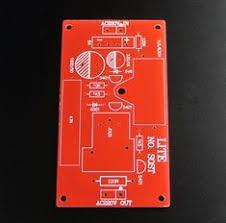 (MFA line) tube preamplifier empty printed circuit board 6922 X3 ...