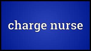 charge nurse meaning charge nurse meaning