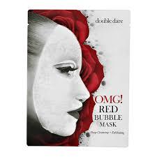 <b>Бабл</b>-<b>маска</b> для лица `DOUBLE DARE` `OMG!` RED <b>очищающая с</b> ...