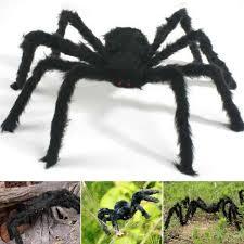 <b>Halloween</b> Party <b>Giant</b> Spider Plush <b>Horror</b> House Novelty Super ...
