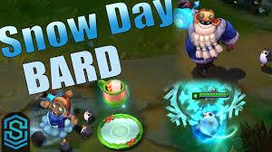 <b>Snow Day Bard</b> Skin Spotlight - League of Legends