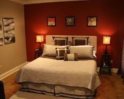 red wall paint black bed: not these colors but i want an accent wall in my master bedroom