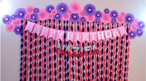 <b>Birthday Decoration</b> Ideas at Home | <b>Party Decoration</b> Ideas |Craftastic