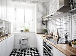 Large Floor Tiles For Kitchen Black And White Kitchen Tiles Outofhome