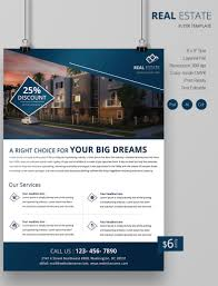 real estate flyer psd ai vector eps format innovative real estate flyer template
