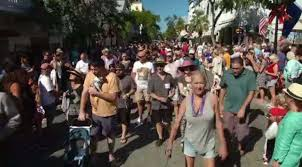 <b>Unicorn</b>, lime wedge, 'Sushi' ring in <b>new year</b> in Key West – WSVN ...
