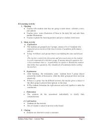English Lesson Plans For  st Class   english teaching worksheets