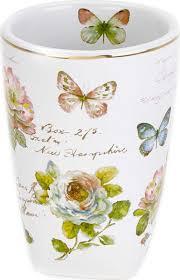 <b>Стакан</b> для зубной пасты <b>Avanti Butterfly</b> Garden, 13882A, 200 мл ...