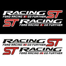 <b>1 Pair</b> ST RACING <b>Car</b> Styling <b>Vinyl</b> Sticker Waist Line Door <b>Vinyl</b> ...