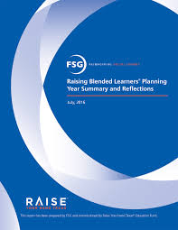 raising blended learners raise your hand texas raising blended learners planning year summary and reflections