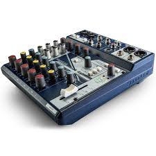 Купить Микшерный <b>пульт Soundcraft Notepad-8FX</b> в Москве, цена ...