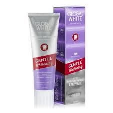 <b>Зубная паста GLOBAL WHITE</b> Gentle Whitening, отбеливающая ...