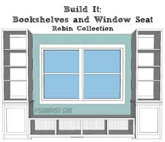 today im sharing the plans for the bookshelf base that flanks the window seat amazing playroom office shared space