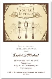 dinner party invitation wording design | Wedding Decorations