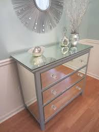 Silver Bedroom Accessories Glass Drawers Bedroom