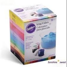 wilton cake pigment 12 color