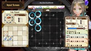 atelier firis the alchemist and the mysterious journey review the tetris like synthesis system makes a return where you must align components around the panels of a grid just right to bring out the full potential of
