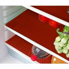 6 <b>Piece PVC Refrigerator</b> Drawer Place Mat Set