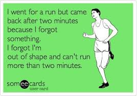 I went for a run but came back after two minutes | Funny Dirty ... via Relatably.com