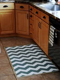 Kitchen Rugs For Wood Floors Kitchen Beautiful Kitchen Rug Decorating Ideas With White Glass