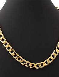 U7® Big Size Men's <b>18K</b> Chunky <b>Gold</b> Filled Hiphop Link Chains ...